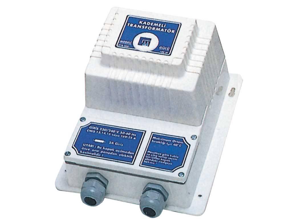 300 W / 230 - 13-14-15-16 V with cascade output. (No load through transformer)