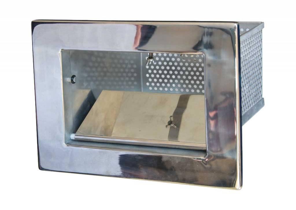 AISI 304 Kalite Paslanmaz Çelikten Mamul Skimmer Sürgülü Sepeti