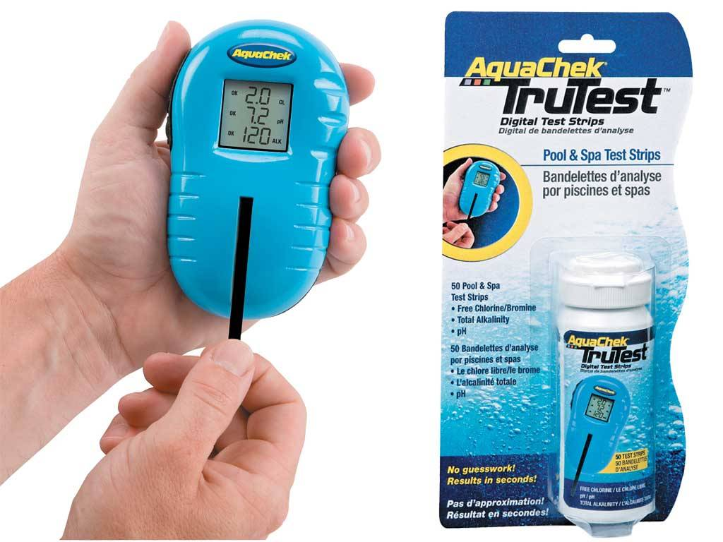 "AQUACHECK ""TRUTEST"" STICK DIGITAL TEST KIT"