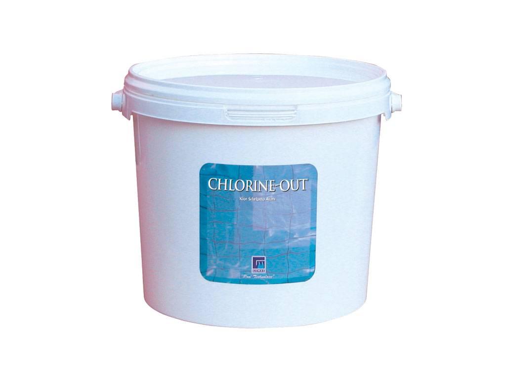 """ CHLORINE-OUT"" agente del reset del cloro"