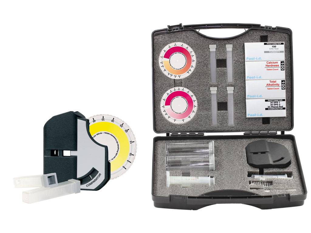 Test Kits With Disc Comparator