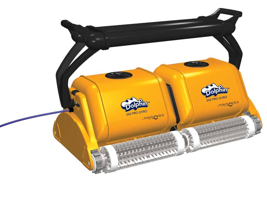 "DOLPHIN ""2 x 2 PRO GYRO"" AUTOMATIC POOL CLEANER"