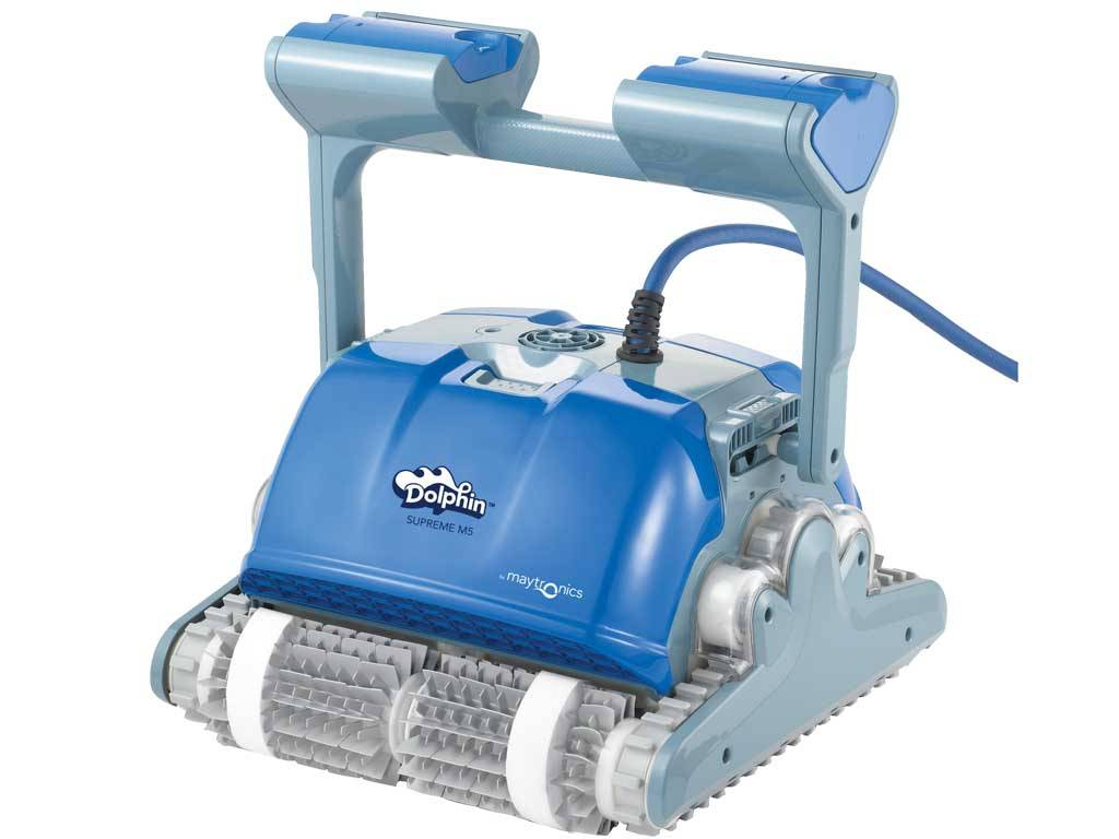 """DOLPHIN """"SUPREME M5"""" AUTOMATIC POOL CLEANER"""