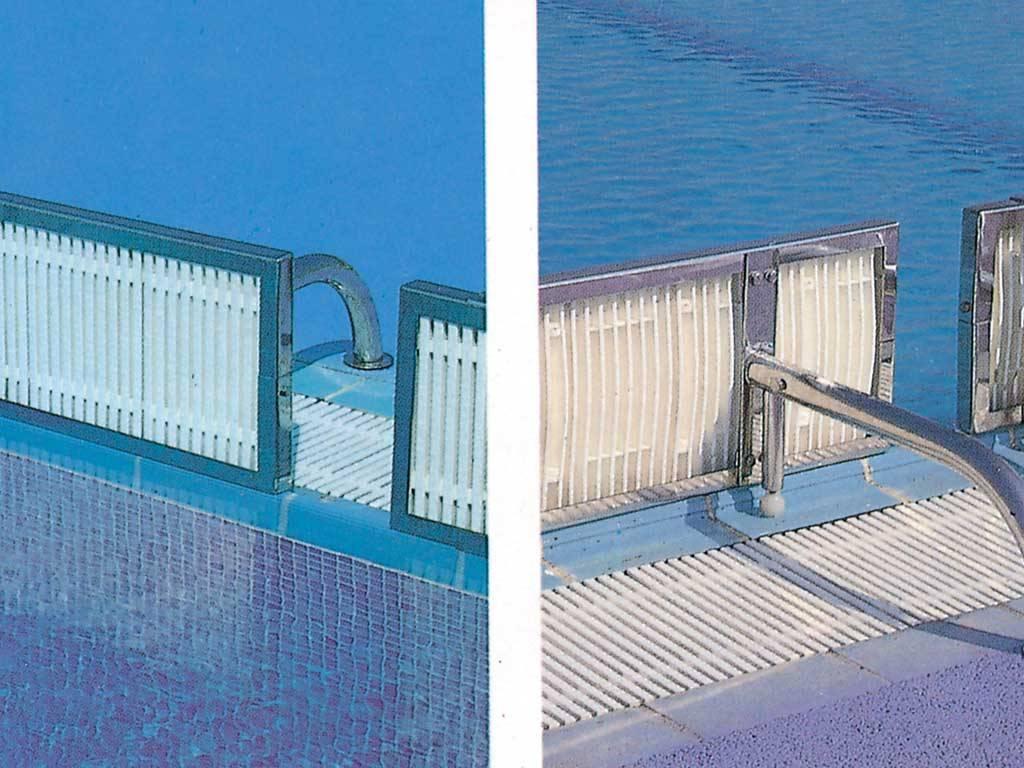 )оворотные панели для переливных бассейнов для соревнований