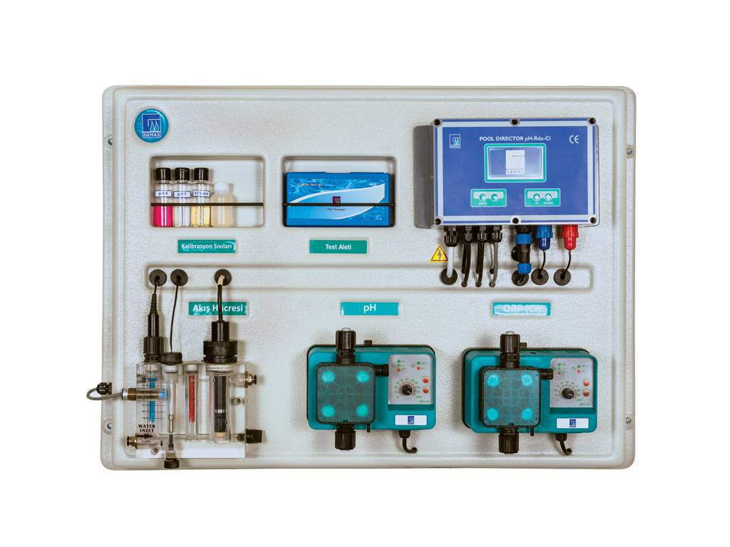 GEMAŞ pH and Free Chlorine Controller