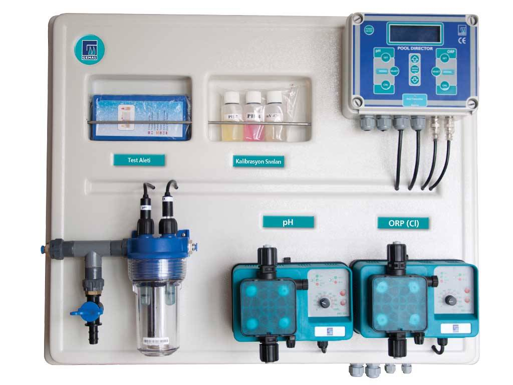 GEMAS POOL DIRECTOR (Automatic pH-Redox Conroller)