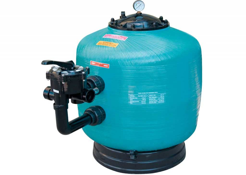 "GEMAS ""TURBIDRON BL"" SAND FILTERS"