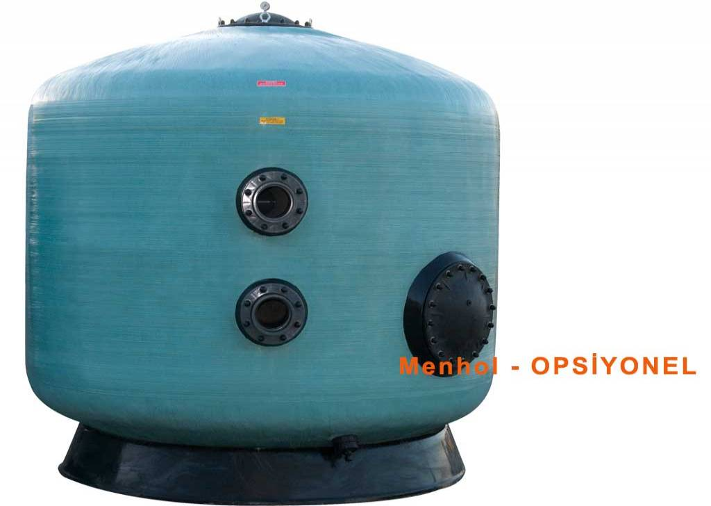 "GEMAS ""TURBIDRON"" SAND FILTERS"