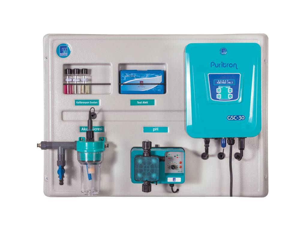 GEMAS Salt - Water Chlorinator with Automatic pH Control