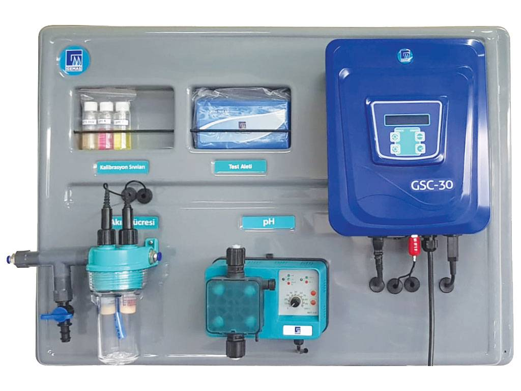 GEMAS Salt - Water Chlorinator with Automatic pH & Redox Control