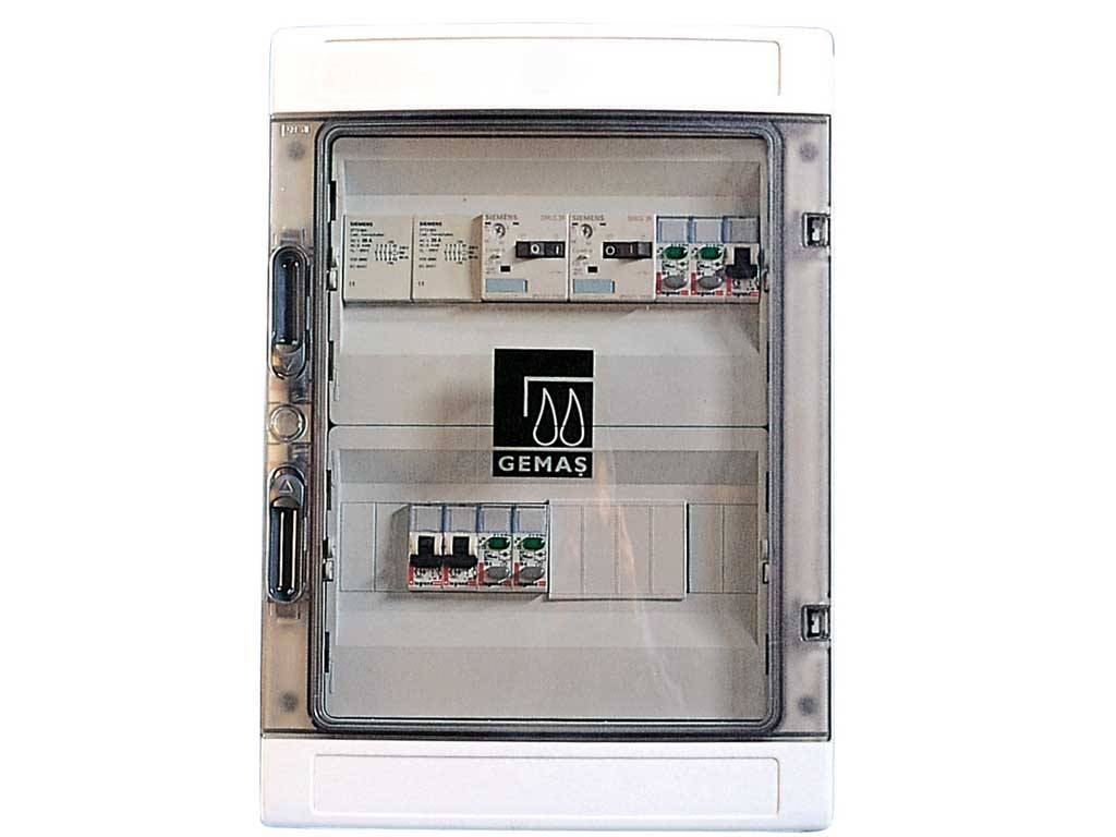 Electrical Control Boards With Contactor