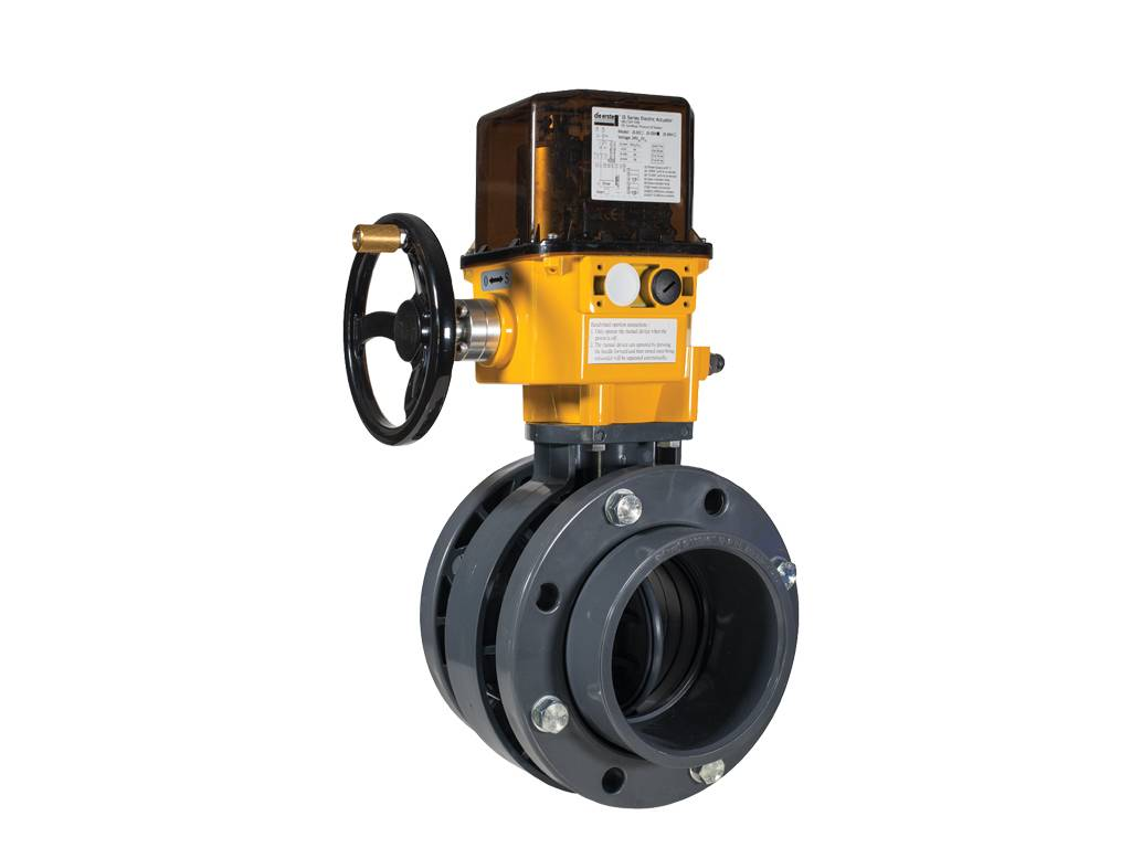 MOTORIZED BUTTERFLY VALVE, PROPOTIONAL