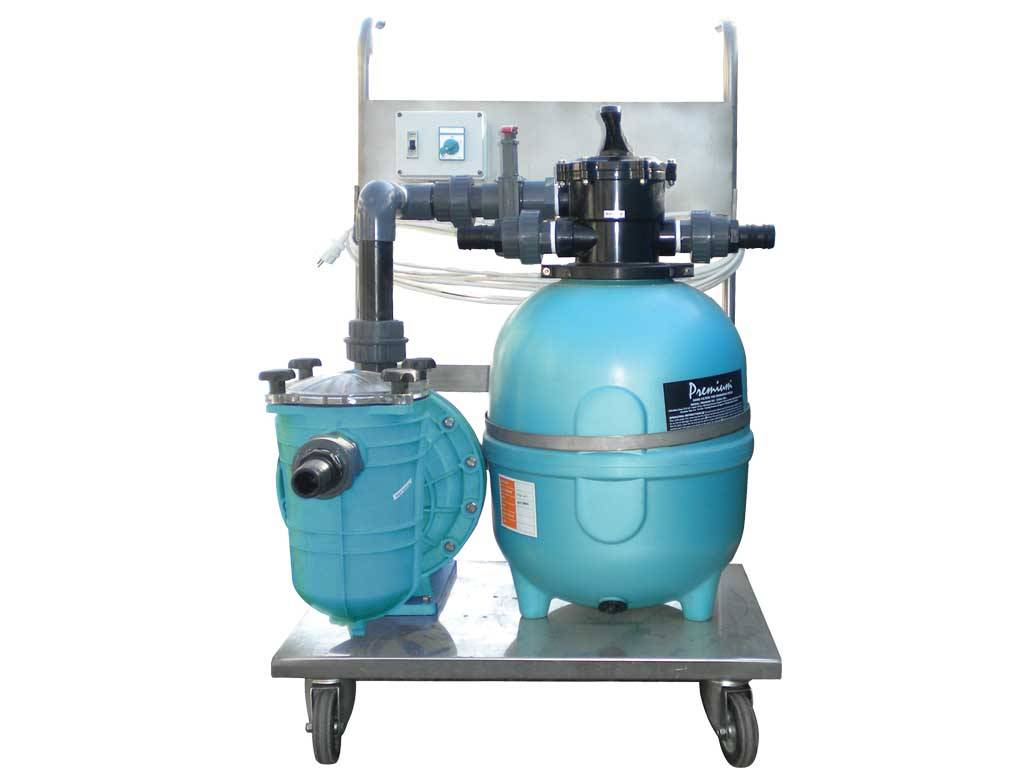 Compact Suction Cleaner - Sand Filter