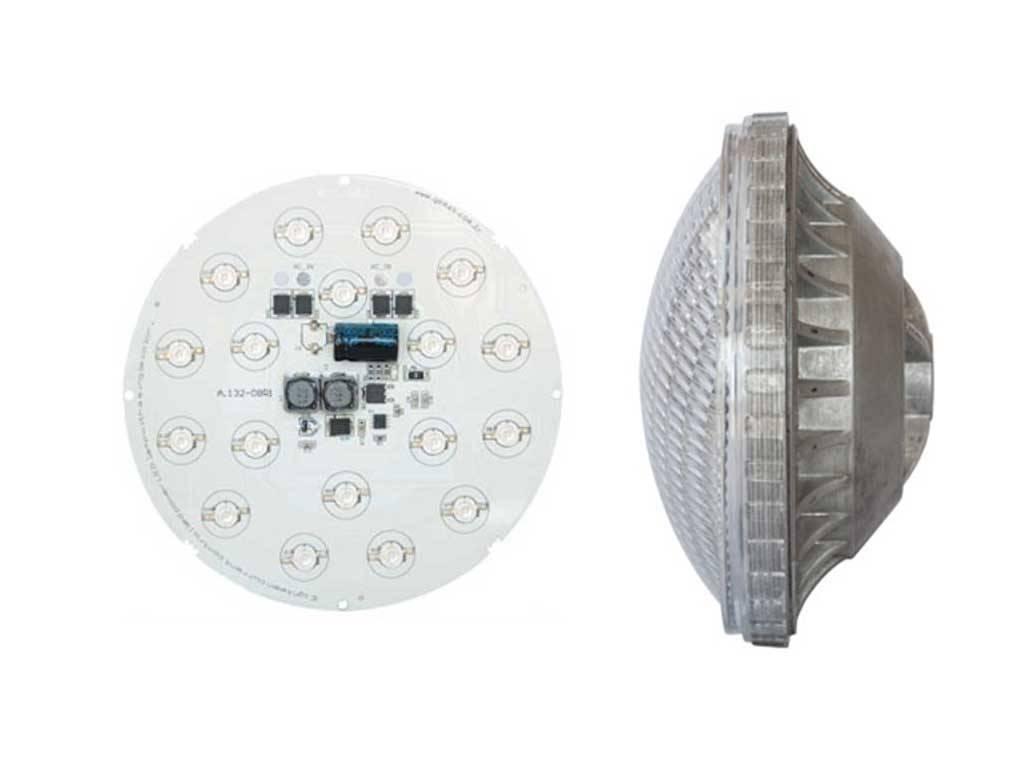 Single color Par 56 with 27 Power LED Bulb.